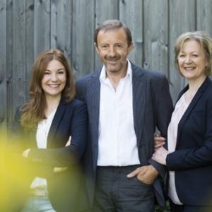 Katharina, Helmut und Sylvia Wohlrab